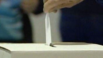 Un vote déposé dans une boîte