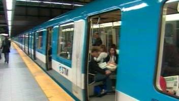 Une station de métro de Laval