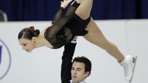 Jessica Dubé et Bryce Davison
