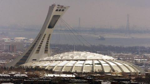 Le stade au coeur du Parc olympique