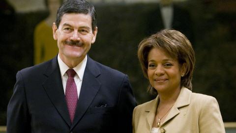 Francisco Barrio Terrazas a été reçu jeudi par la gouverneure générale Michaëlle Jean.