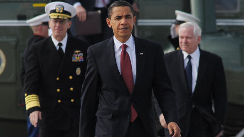 Michael Mullen, Barack Obama et Robert Gates