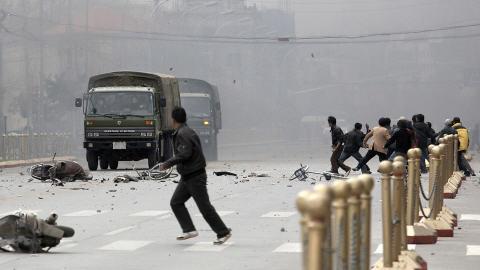 Des émeutes avaient secoué Lhassa en 2008.