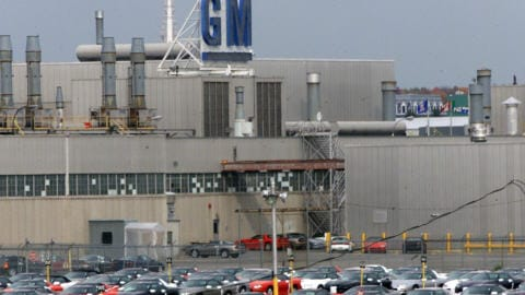 L'usine de General Motors de Boisbriand (archives)