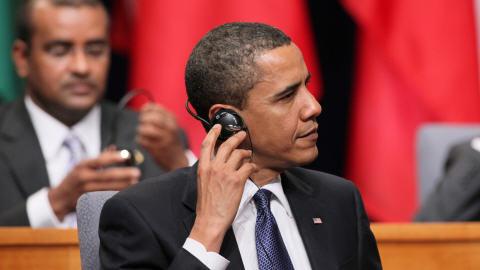 Barack Obama au Sommet des Amériques