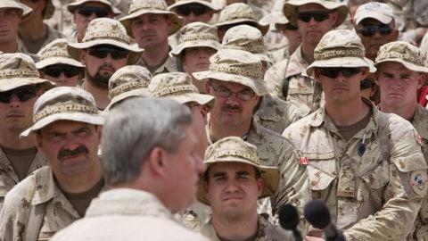 Stephen Harper en Afghanistan