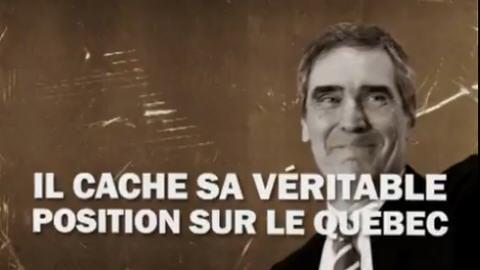 Image extraite de la publicité en français du Parti conservateur
