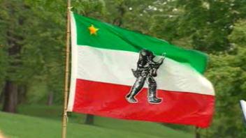 Le drapeau des patriotes
