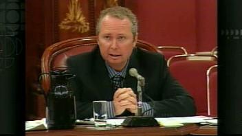 Le chef de la direction de la CSST Luc Meunier.