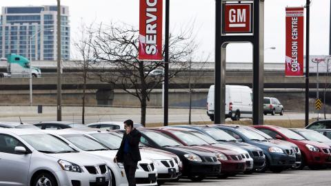 Concessionnaire General Motors (GM) dans la région de Toronto