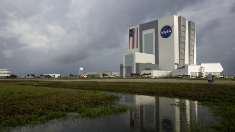 La base de la NASA de Cap Canaveral, en Floride