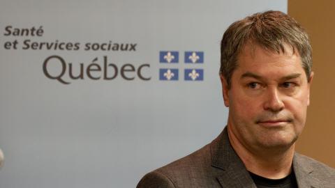 Le ministre de la Santé et des Services sociaux, Yves Bolduc