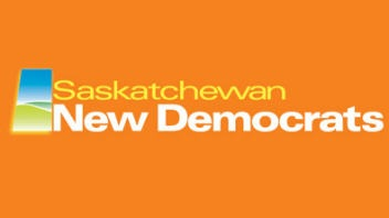 Logo du NPD de la Saskatchewan