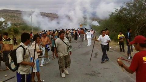 Les autochtones ont affronté les policiers à Bagua, au Pérou.