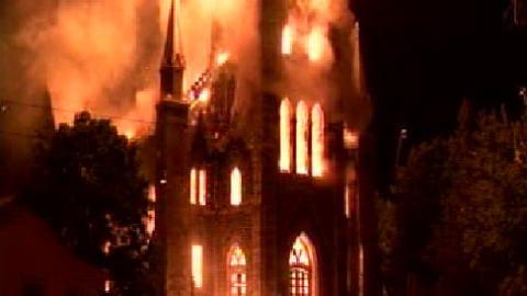 L'église Saint-Paul d'Aylmer a été réduite en cendre.
