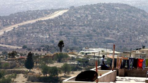 Le village de Bil'in