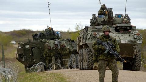 Véhicule blindé de la Défense nationale du Canada
