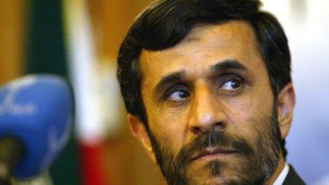 Le président iranien Mahmoud Ahmadinejad (archives)
