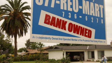 Saisie hypothécaire aux États-Unis