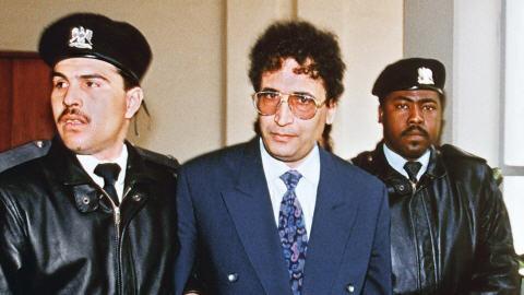 Abdelbaset Ali Mohamed Al-Megrahi en 1992 en Lybie