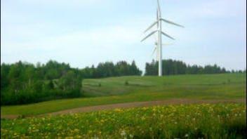 Éoliennes à Saint-Léandre