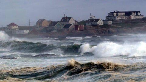 Peggy's Cove, en Nouvelle-Écosse, le 23 août 2009
