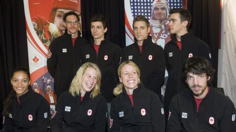 Équipe canadienne olympique de courte piste