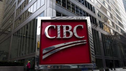 Succursale de la CIBC à Toronto.
