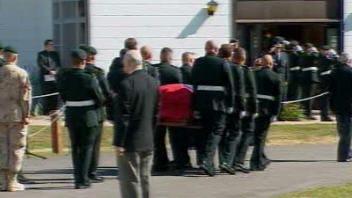 Funérailles de Yannick Pépin