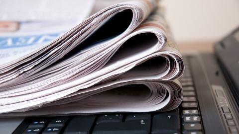 Journaux sur un ordinateur portable