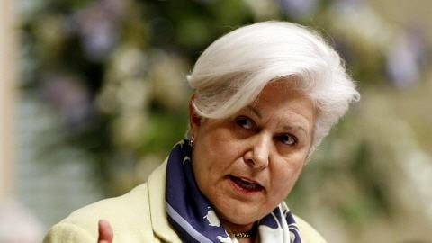 Louise Harel à l'Assemblée nationale le 23 novembre 2005.