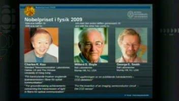 Les lauréats du prix Nobel 2009