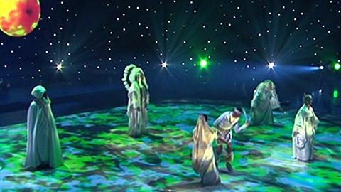 Le spectacle ' De la terre aux étoiles pour l'eau '