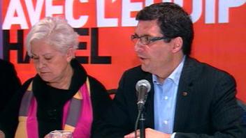 Louise Harel et Benoît Labonté