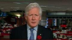 Bob Rae, député libéral de Toronto-Centre