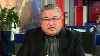 Raphaël Picard, chef du Conseil des Innus de Pessamit