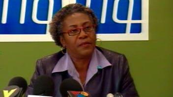 Régine Laurent, présidente de la Fédération interprofessionnelle de la santé du Québec