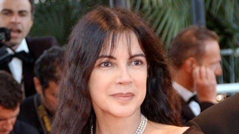 Carole Laure, à Cannes, en 2002