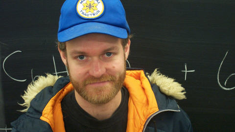 Adam Kelly, auteur de L'Anorak.