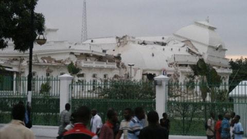 Séisme à Port-au-Prince