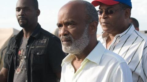 Le président haïtien René Preval