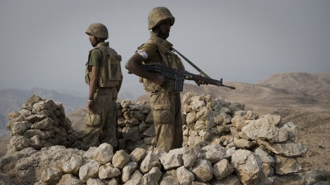 Des soldats pakistanais déployés dans le