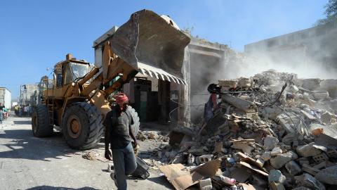 Le Canada doit coordonner la reconstruction d'Haïti