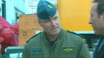Le colonel Russell Williams et le ministre de la Défense nationale, Peter MacKay