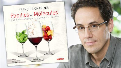 Le sommelier François Chartier et son livre.