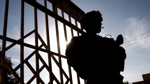 Un soldat canadien à Kandahar