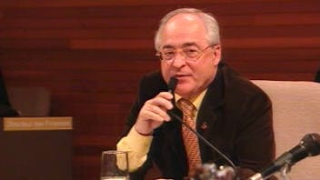 Le maire de Mascouche, Richard Marcotte