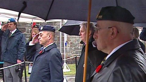 Une cérémonie s'est déroulée à Québec vendredi pour commémorer la contribution des Canadiens durant la Première Guerre mondiale.