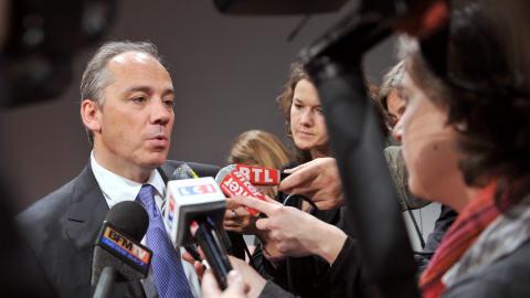 Stéphane Richard, nouveau directeur-général de France Télécom