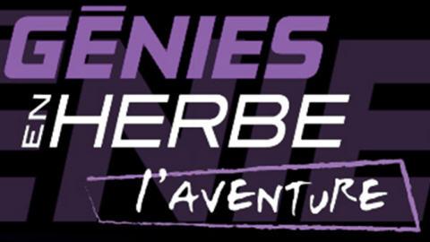 Logo de la nouvelle émission Génies en herbe : l'aventure